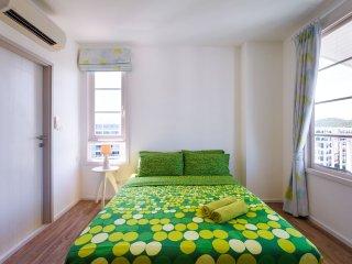 Summer HuaHin Condominium_GAG:Two Bedrooms Apartment, GardenView