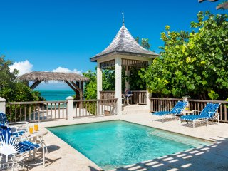 Callaloo Cottage, a 1BR beachfront villa with island's best snorkeling