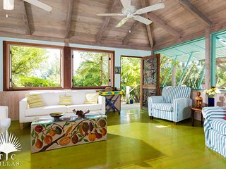 Artists bungalows in garden oasis 190 paces to Grace Bay Beach w yoga deck