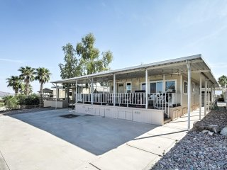 Lake Havasu Home w/Semi-Private Beach & Boat Slip!