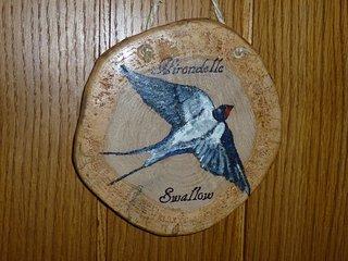 Door name l'Hirondelle  (Swallow)