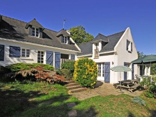 5 bedroom Villa in Clohars-Carnoet, Brittany, France : ref 5456742