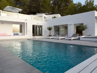 6 bedroom Villa in Cala Tarida, Balearic Islands, Spain : ref 5456067