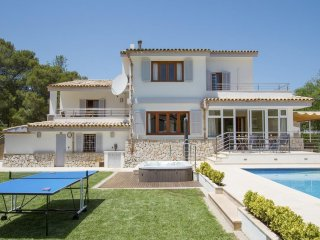 4 bedroom Villa in Port de Pollenca, Balearic Islands, Spain : ref 5455975