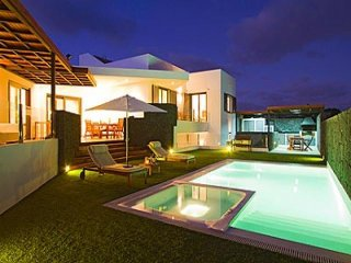 4 bedroom Villa in Puerto Calero, Canary Islands, Spain : ref 5455590