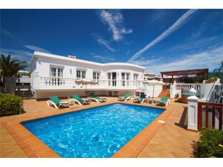 5 bedroom Villa in Puerto del Carmen, Canary Islands, Spain : ref 5455618