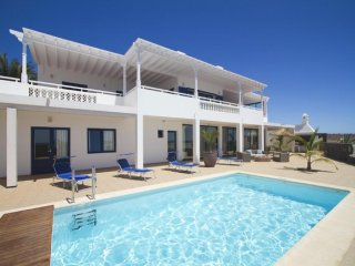 4 bedroom Villa in Puerto Calero, Canary Islands, Spain : ref 5455591