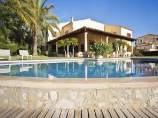 4 bedroom Villa in Selva, Balearic Islands, Spain : ref 5455456
