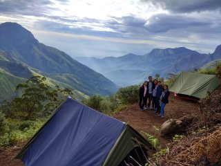 Munnar Adventures and Camp RIDGE- Camping in munnar with Adventure Activities