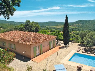 5 bedroom Villa in Grimaud, Provence-Alpes-Cote d'Azur, France : ref 5435966