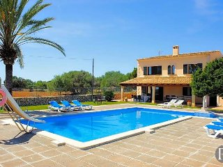 5 bedroom Villa in Cala Ferrera, Balearic Islands, Spain : ref 5433276