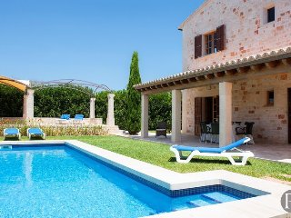 5 bedroom Villa in es Llombards, Balearic Islands, Spain : ref 5433268