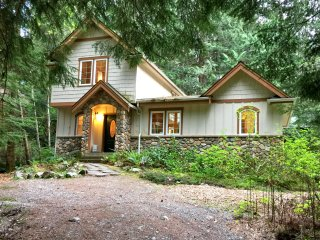Snowline Cabin #34 - Great English Tudor-style home with hot tub! Now with Wifi!