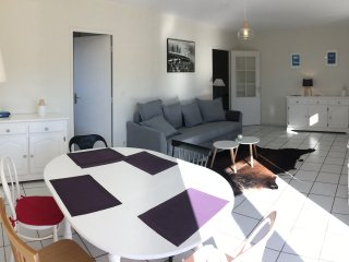 Appartement spacieux 500m plage & commerces