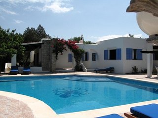 4 bedroom Villa in Playa d'en Bossa, Balearic Islands, Spain : ref 5402621