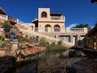6 bedroom Villa in Cala Tarida, Balearic Islands, Spain : ref 5388253