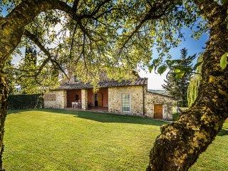 5 bedroom Villa in Strada in Chianti, Tuscany, Italy : ref 5386391