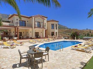 6 bedroom Villa in La Cala De Mijas, Andalusia, Spain : ref 5364758