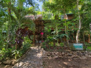 Relax in the Rainforest near Waterfalls at Better in Belize Eco Lodge