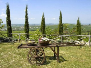 15 bedroom Villa in San Gimignanello, Tuscany, Italy : ref 5311573