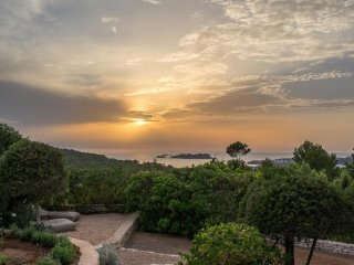 5 bedroom Villa in Cala Tarida, Balearic Islands, Spain : ref 5252015