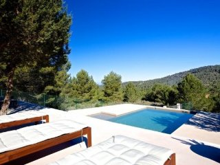 3 bedroom Villa in Cala Tarida, Balearic Islands, Spain : ref 5251905