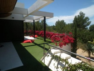 5 bedroom Villa in Cala Tarida, Balearic Islands, Spain : ref 5251898