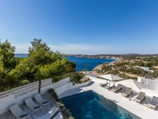 6 bedroom Villa in Cala Tarida, Balearic Islands, Spain : ref 5251911