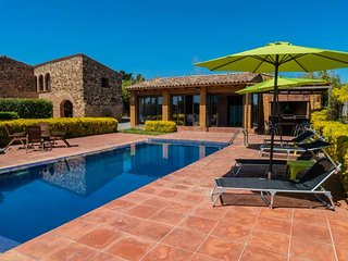 5 bedroom Villa in Mont-ras, Catalonia, Spain : ref 5246983