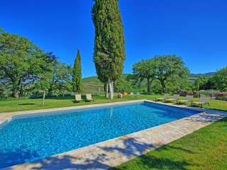 5 bedroom Villa in Vertine, Tuscany, Italy : ref 5242174