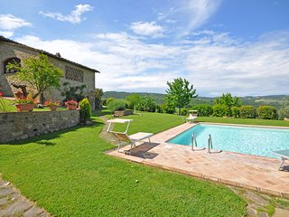 4 bedroom Villa in Pancole, Tuscany, Italy : ref 5241748