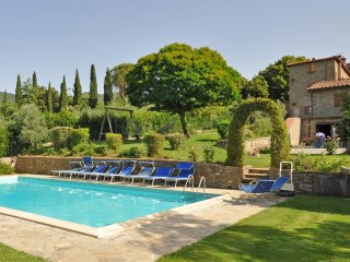 4 bedroom Villa in Cortona, Tuscany, Italy : ref 5241712