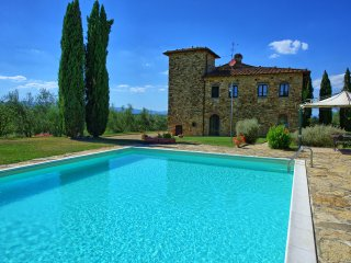 8 bedroom Villa in Pogi, Tuscany, Italy : ref 5241503