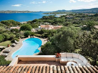 Porto Pollo Villa Sleeps 10 with Pool and Air Con - 5241374