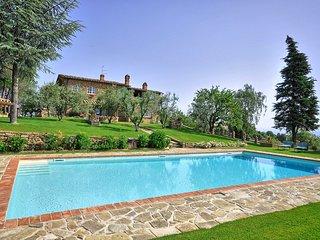 4 bedroom Villa in Monte San Savino, Tuscany, Italy : ref 5241658