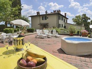 8 bedroom Villa in Borgo San Lorenzo, Tuscany, Italy : ref 5240632