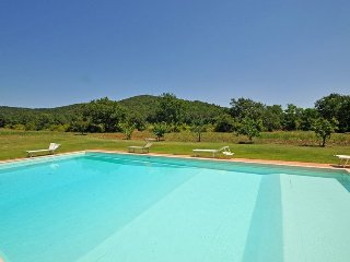 4 bedroom Apartment in Marsiliana, Tuscany, Italy : ref 5251965