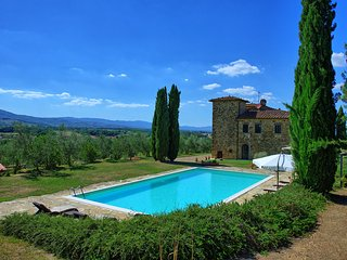 8 bedroom Villa in Pogi, Tuscany, Italy : ref 5239635
