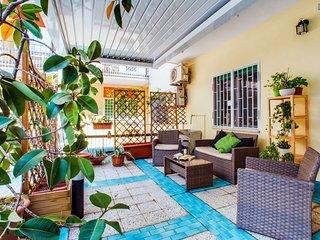 Nice little flat in Garbatella with lovely terrace