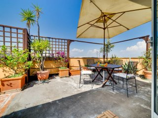 Sunny Flat with a Large Terrace close to Vatican