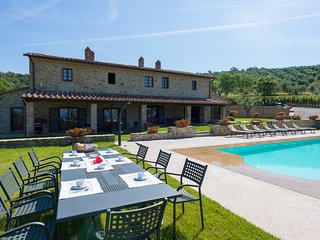 7 bedroom Villa in Pieve Confini, Umbria, Italy : ref 5238226