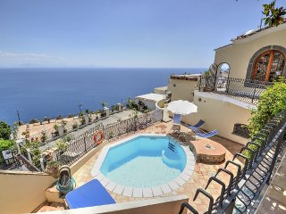 4 bedroom Villa in Praiano, Campania, Italy : ref 5228455