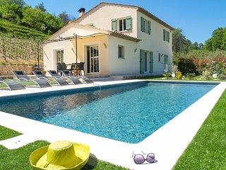 3 bedroom Villa in Saint-Paul-de-Vence, Provence-Alpes-Côte d'Azur, France : ref