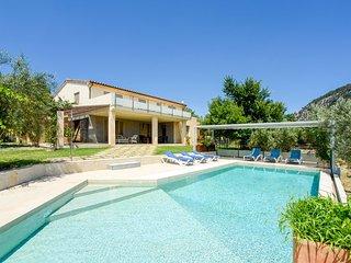 5 bedroom Villa in Pollenca, Balearic Islands, Spain : ref 5218000