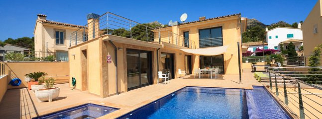 4 bedroom Villa in Cala San Vicente, Balearic Islands, Spain : ref 5217509