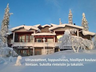 6 bedroom Villa in Inari, Lapland, Finland : ref 5061954