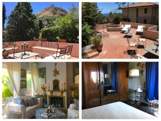 CASA DORA Sea View Terrace, Garden + Free Parking Taormina