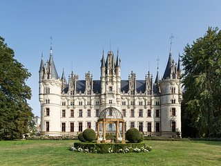 14 bedroom Chateau in Challain-la-Potherie, Pays de la Loire, France : ref 50498