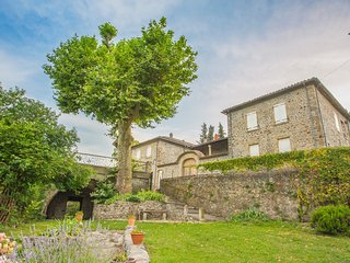 8 bedroom Villa in Lalevade-d'Ardeche, Auvergne-Rhone-Alpes, France : ref 504980
