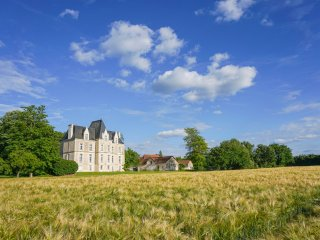 7 bedroom Chateau in Archigny, Nouvelle-Aquitaine, France : ref 5049790